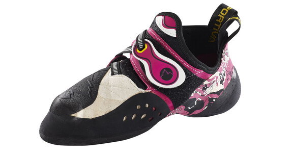 La Sportiva Solution Klatresko Damer pink/sort
